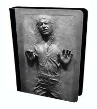 Han Solo in Carbonite Star Wars Tablette étui en Cuir