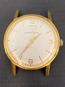 VINTAGE BIRKS ETERNA-MATIC GOLD FILLED AUTOMATIC MENS WATCH