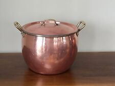 Ruffoni, Italy Copper Stock Pot with Lid ~ 13.25Qt