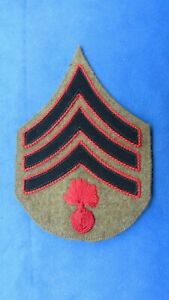ORIGINAL SERGEANT OF ORDNANCE CHEVRON-PATCH-1902-1917