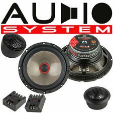 Audio System Carbon 165 Compo 165mm Lautsprecher Boxen 2 Wege Komposystem