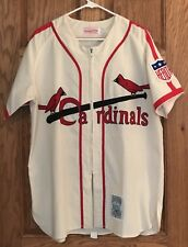 Stan Musial Authentic 1942 St. Louis Cardinals Mitchell & Ness Jersey Size M