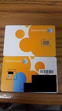 BRAND NEW MICRO AT&T SIM CARD 4G SKU 40954 (Single) UNACTIVATED