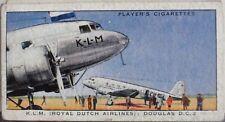 No.23 K.L.M. DOUGLAS DC2 International Air Liners Player 1936