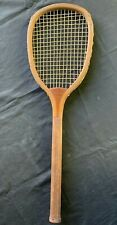 Antique Tennis Racket J R Reach Philadelphia c1890