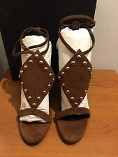 GIUSEPPE ZANOTTI Taline Studded Wedge Sandals Size UK 7/EU 40  £725 Sold Out!!!