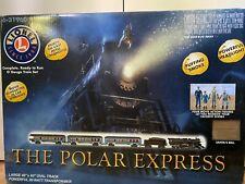 Lionel O Gauge Polar Express Train Set - Black with additional track