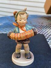 "Hummel Figurine "" Accordion Boy "" #185 1950s"