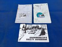 1989 Skidoo Safari Cheyenne Escapade Voyageur Snowmobile Owners Manual ORIGINAL