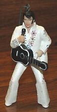Elvis Presley Breakable White Sparkly Suit Plaster Hanging 2004 EPE Ornament!