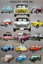 """""""Classic Mini Car"""" Poster - British Motor Corp, Austin, Cooper, Isetta, Mark Iv"""