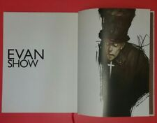 RARE~Evan Show 1st Edition 2005 Gnome International Hardcover Book of Drawings