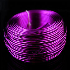 Purple Aluminum Wire  2mm Purple Color Jewelry Making Craft Wrap 2Meter