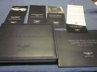 2011 BENTLEY SUPERSPORTS OWNERS MANUAL MANUEL DU PROPRIETAIRE NEW SET FRENCH