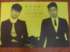 TVXQ TOHOSHINKI Catch Me [OFFICIAL] POSTER K-POP *NEW*