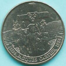 CANADA  - 1984 JACQUES CARTIER ONE DOLLAR COIN - QUEEN ELIZABETH II