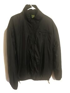 Cabela's Men's Nylon rain Jacket packable black Large