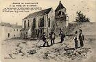 CPA Légende de Saint-Saulge - La Vache sur le Clocher (457122)