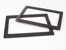 LOT OF TWO INSIDE KITS: 4.75X6.5 PLATE HOLDER TO USE A 3.5X5.5 PLATE/191514