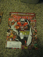 "Braxton Miller Sports Illustrated Magazine ""MARCH 2013"" COLLECTORS ITEM"