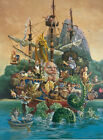 James Christensen Voyage of the Basset Signed/Numbered Lithograph 664/850