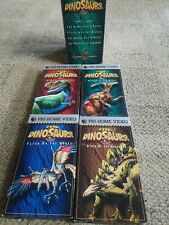 The Dinosours 4 VHS Set - PBS