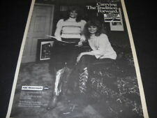 DOTTIE WEST and SHELLY WEST Carrying Tradition Forward 1983 PROMO POSTER AD mint