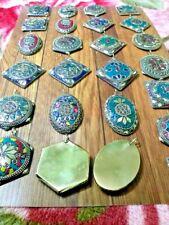 Pendant Boho Brass Vintage Jewelry 15 Assorted Tibetan Banjara Tribal Antique