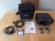 BenQ MP622c Digital XGA Projector complete with accessories & carry bag.