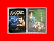 2 DVD SET:JAMES BOND 007 THUNDERBALL+FROM RUSSIA WITH LOVE-SEAN CONNERY MINTDISC