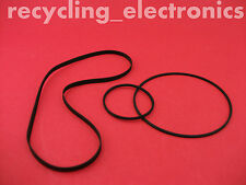 AKAI GXC-709D, GXC709D Drive Belt Kit For Cassette Deck (3 Belts)