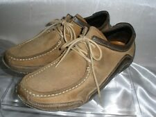 Cole Haan 'Air~ Chukka Ankle Boot Shoes Brown Tan Suede Driving Moc Mens 8 M