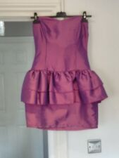 Rare Lilac Peplum Dress Size 8