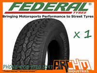 265 / 65 R17 FEDERAL A/T ALL TERRAIN TYRE 4WD / SUV / LT AWESOME QUALITY