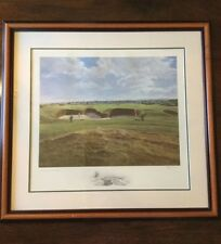 Peter Munro St.Andrews (14th hole) Limited edition Print No.3/600