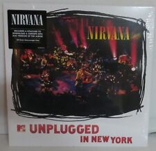 Nirvana Unplugged In New York LP Vinyl Record new European press reissue