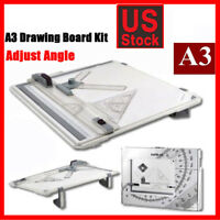 A3 Drafting Drawing Board SET tracing Architect Stencil Ruler Table Sketch Tool