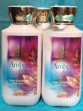 NEW Bath and Body Works Amber Blush Body Cream Lotion x5