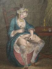 Erotique Gravure 1830 Achille Deveria? XIX EROTISME EROTIC 19 ème