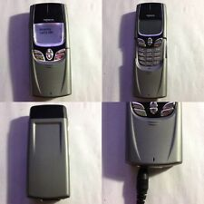 CELLULARE NOKIA 8850 GSM GRIGIO VINTAGE CLASSIC PHONE UNLOCKED SIM FREE DEBLOQUE