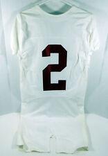 2009-15 Alabama Crimson Tide #2 Game Used White Jersey BAMA00133