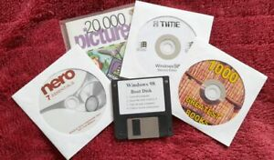 Microsoft Windows 98 Second Edition plus Floppy Boot and more in Job lot bundle