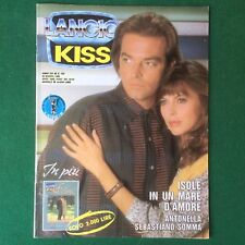 KISS n.155/1990 MICKEY ROURKE GIGANTI Fotoromanzo Lancio (ITA) Rivista Magazine