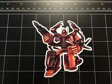 Transformers G1 Chop Shop box art vinyl decal sticker Decepticon 80s Insecticon