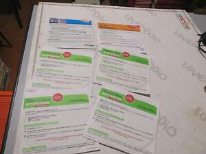 Lot CD Antivirus Panda, Titanium Anni 2000 Con Key Licence