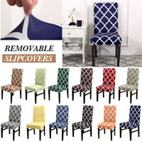 Stretch Dining Chair Covers Removable Slipcover Home Banquet Furniture Covers AU