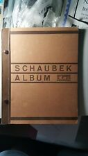 GENUINE 1934 SCHAUBEK  Stamp Album  EUROPE+ASIA+AFRICA+USA+AUSTRALIA 64 Pages