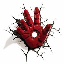 Marvel Avengers Assemble Iron Man Hand 3d FX Deco Wall LED Night Light