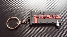 OPEL C20XE rouge haut Porte-clés Suite ASTRA NOVA CORSA KADET Noir