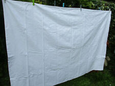 Housse d'édredon vintage 1970 coton damassé 1,9 m x 1,3 m